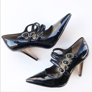 Sam Edelman Peyton Black Patent Leather